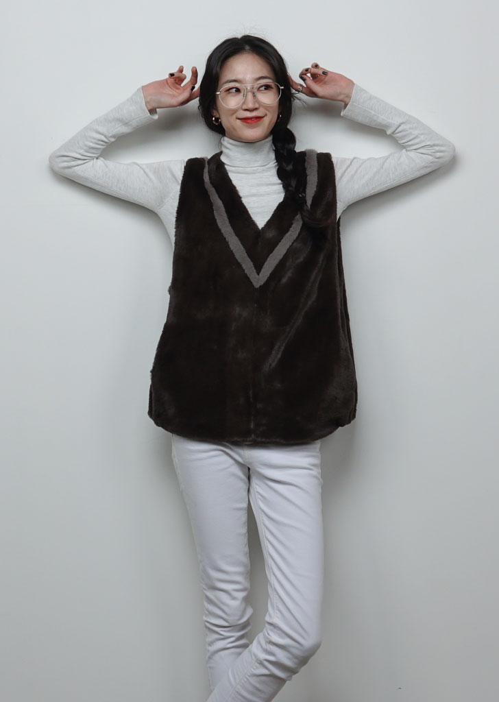 Sailor Fur Vest