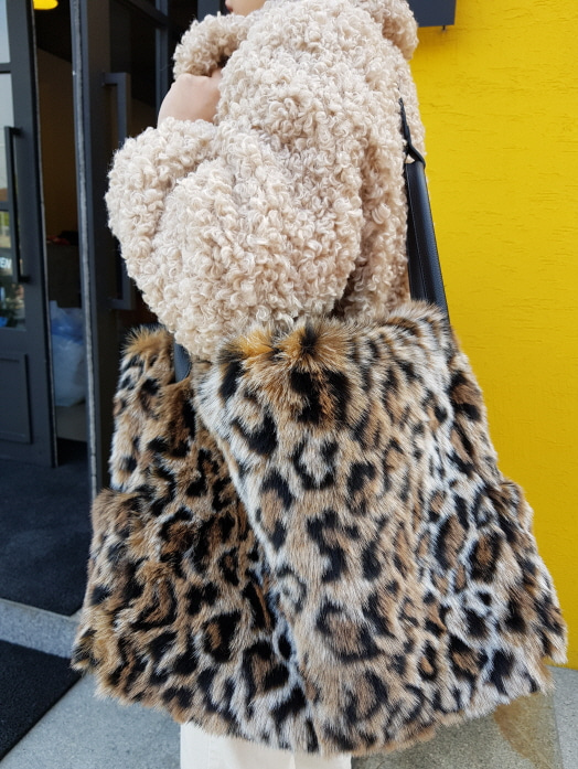 Leopard Two-way bag